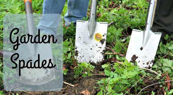 garden spades